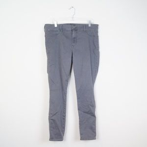 Express | Gray Skinny Jeans